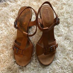 Madewell heeled sandals